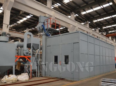 How to Design Abrasive Air Sandblasting Room