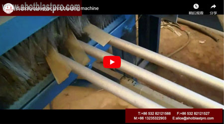 Diabolo Conveyor Shot Blasting Machine