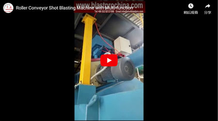 Roller Conveyor Shot Blasting Machine With Multi-function