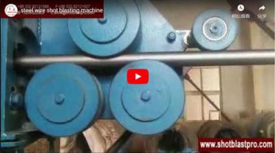 Shot Blasting Machine for Surface Cleaning of Steel Wire - Qinggonng Machinery