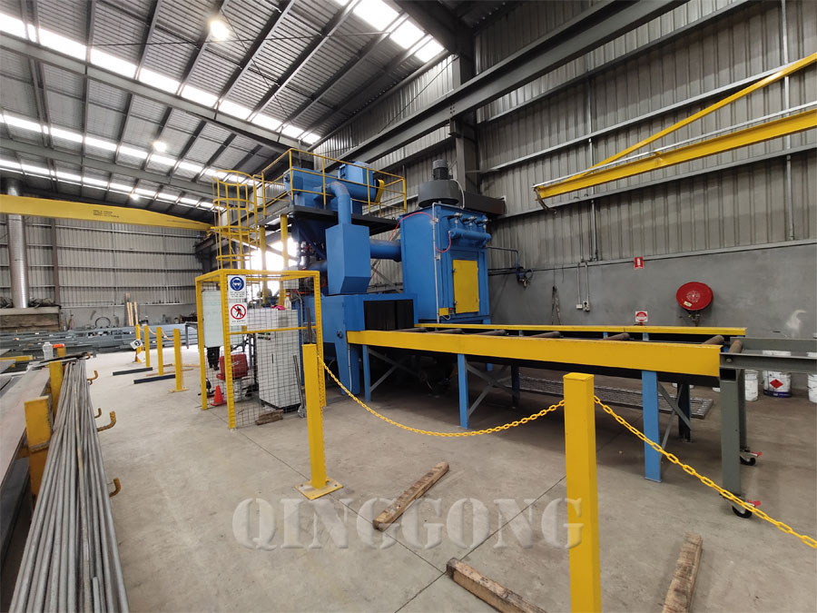h beam shot blasting machine 4