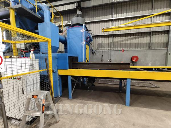 h beam shot blasting machine 3