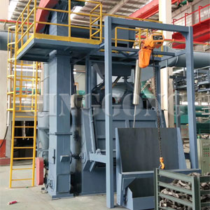 Tumble Belt Shot Blasting Machine
