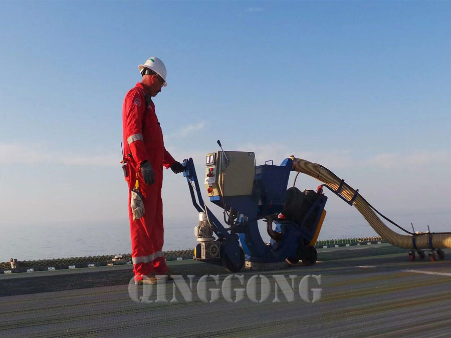 floor blasting equipment