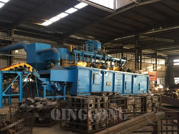 Continuous Conveyor Shot Blasting Machine