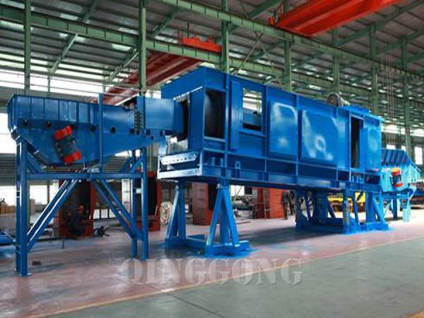 Continuous Shot Blasting Machine