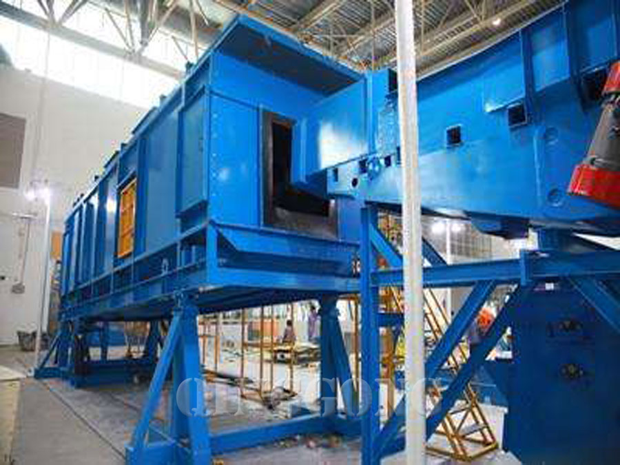 continuous rocker barrel shot blasting machine for sale
