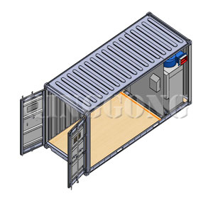 Transportable Container Blast Room