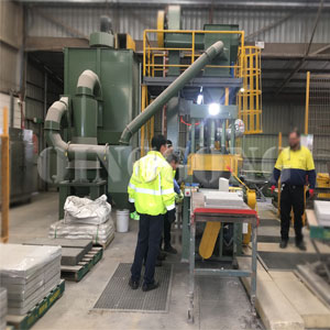 Pavers Shot Blasting Machine