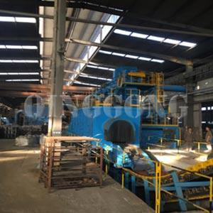 Continuous Rocker Barrel Shot Blasting Machine