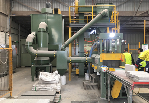 The Application of Shot Blasting Machine in Stone Industry