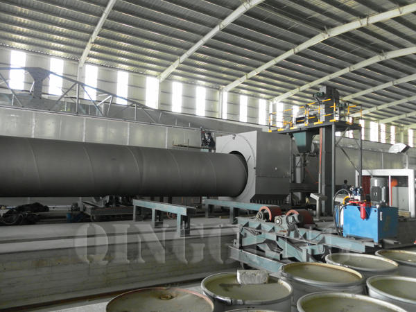 External And Internal Pipe Blasting Equipment