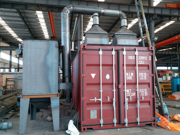 Container Sandblasting Room Advantages 1
