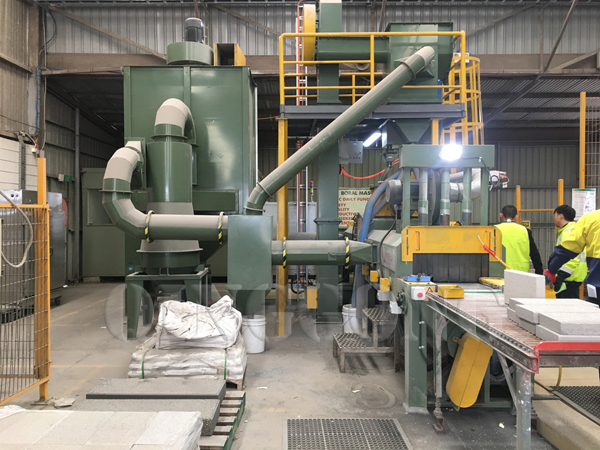 shot blasting machine in stone industry 1
