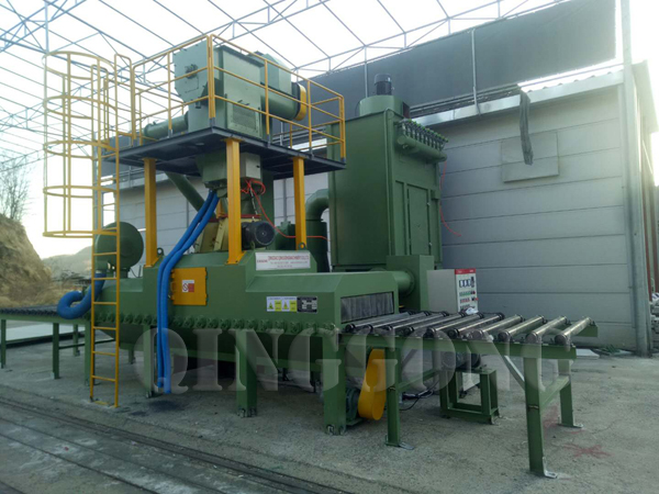 shot blasting machine in stone industry 2