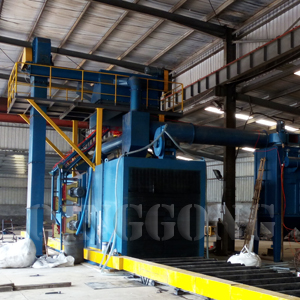 Weldment Shot Blasting Machine