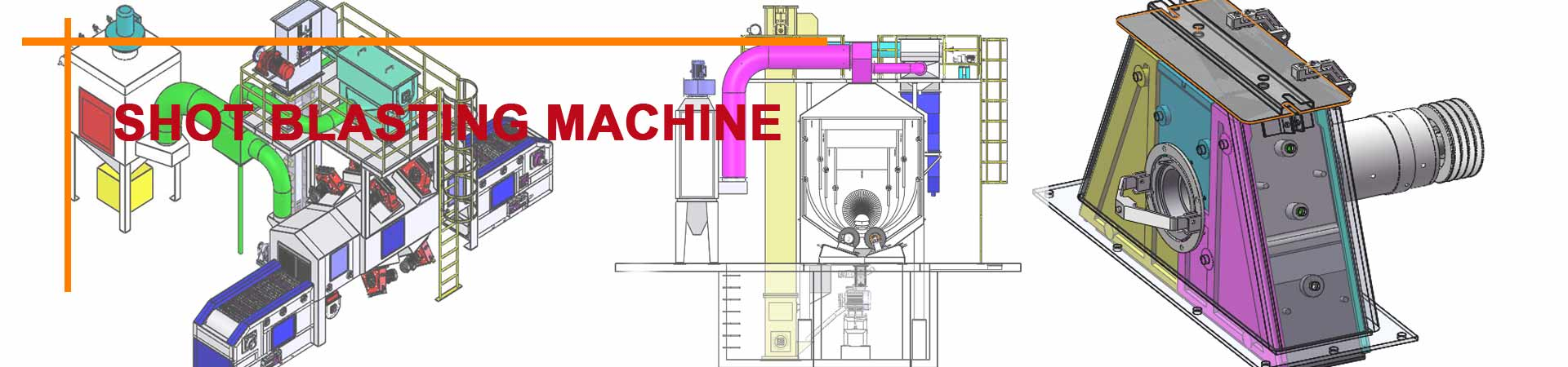 qinggong shot blasting machine