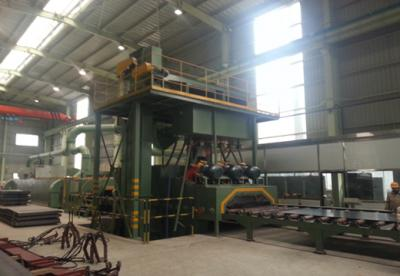 The Application of Shot Blasting Machine in Steel Plate Industry