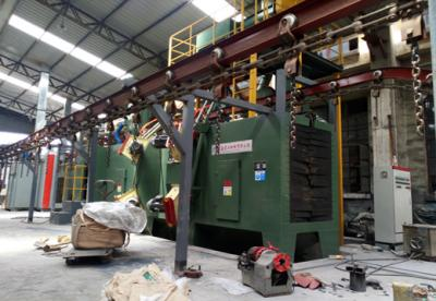The application of shot blasting machine in cylinder industry