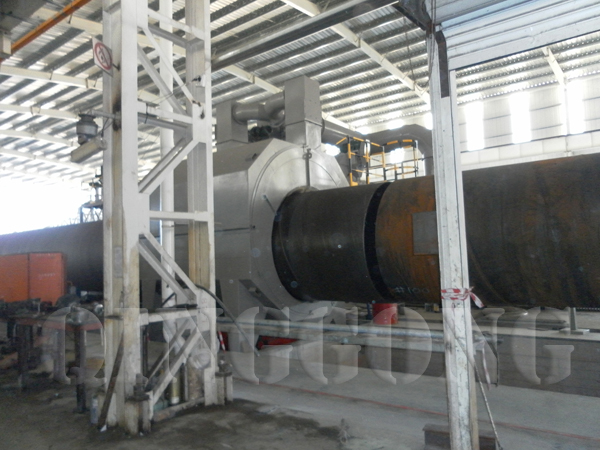 appliance of shot blasting machine for pipes industry 1