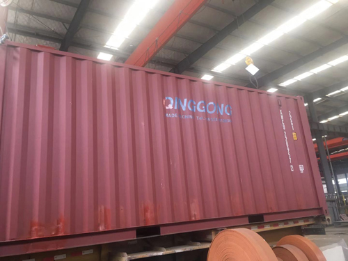 QINGGONG MACHINERY Developed a Transportable Container Blasting Room