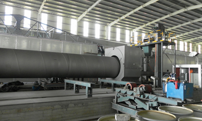 Pipes Internal And External Blasting Equipment in South Africa
