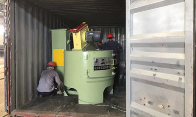 Rotary Table Shot Blasting Machine Delivery for Australia Customer