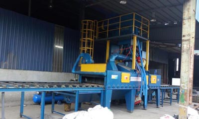 Scaffolding Shot Blasting Machine