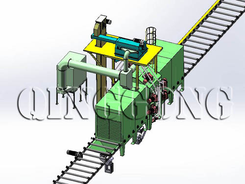 Core Components of Shot Blasting Machine