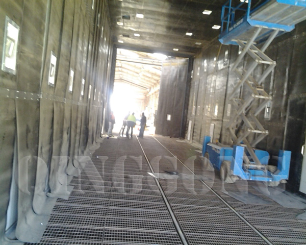 Sandblasting Room by QINGGONG Machinery