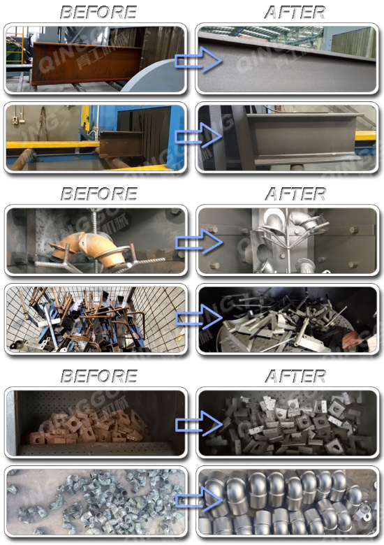 Shot Blasting Machine Working Process