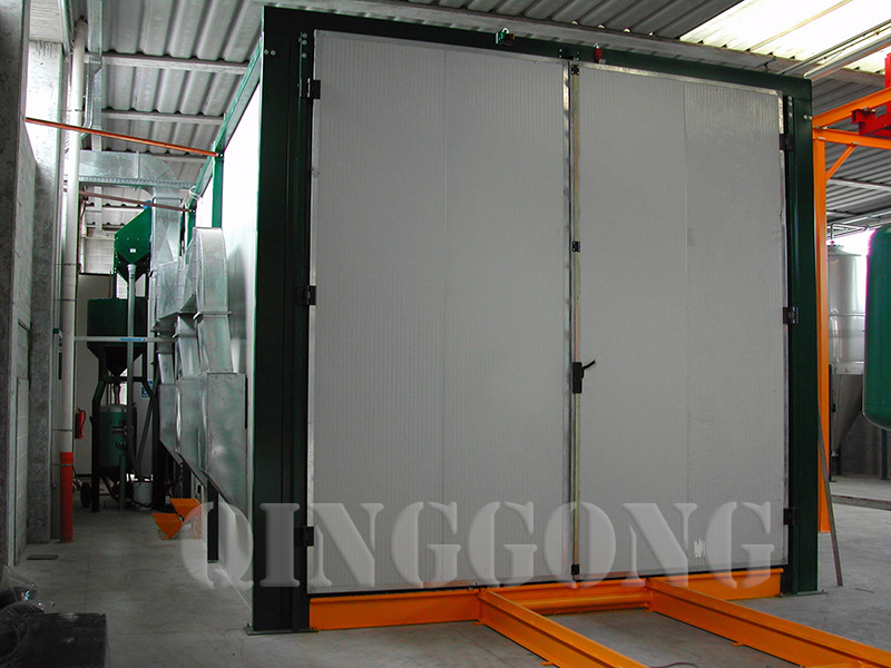 Picture of Container Sandblasting Room