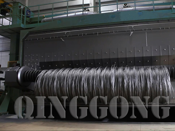 wire rod coil shot blasting machine price