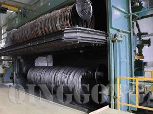 buy wire rod coil shot blasting machine