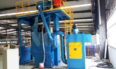 Shot Blasting Machine for Metal Parts