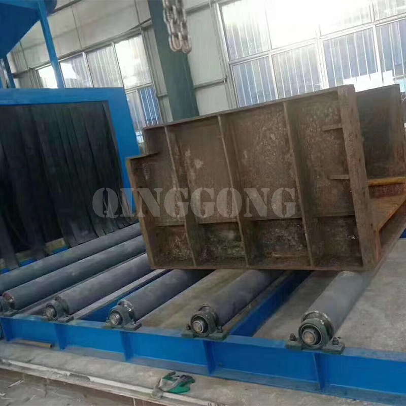 shot blasting machine china