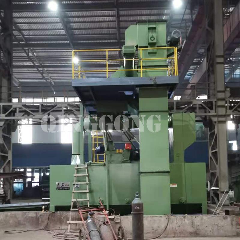 Roller conveyor shot blasting machine for Argentine customer2.jpg