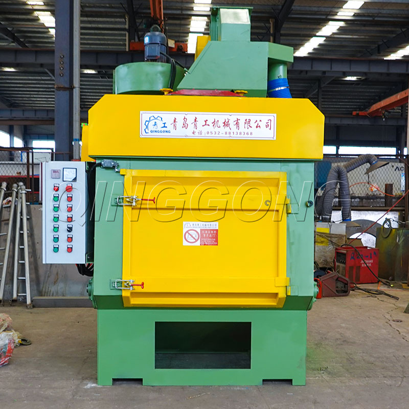 Features and advantages of tumble belt shot blasting machine structure1.jpg