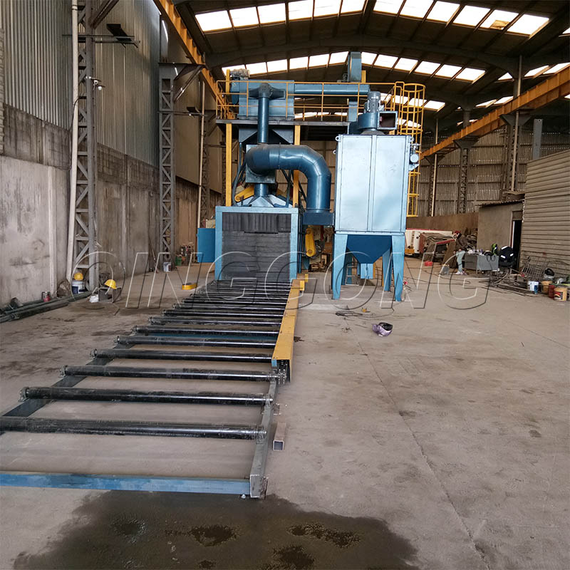 How the shot blasting machine can better collect dust and enter a low resistance operation state 2.jpg