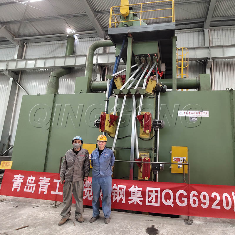 How the shot blasting machine can better collect dust and enter a low resistance operation state 3.jpg