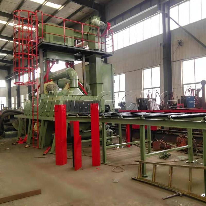 The components of roller conveyor type shot blasting machine 2.jpg