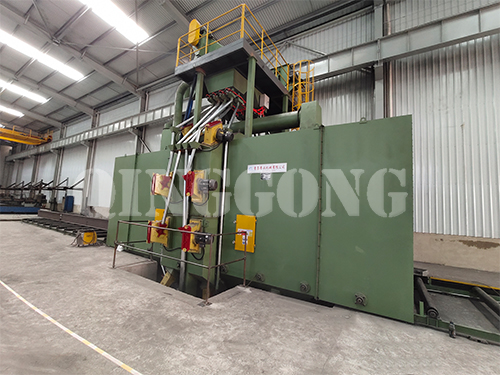 Characteristics of steel structure shot blasting machine