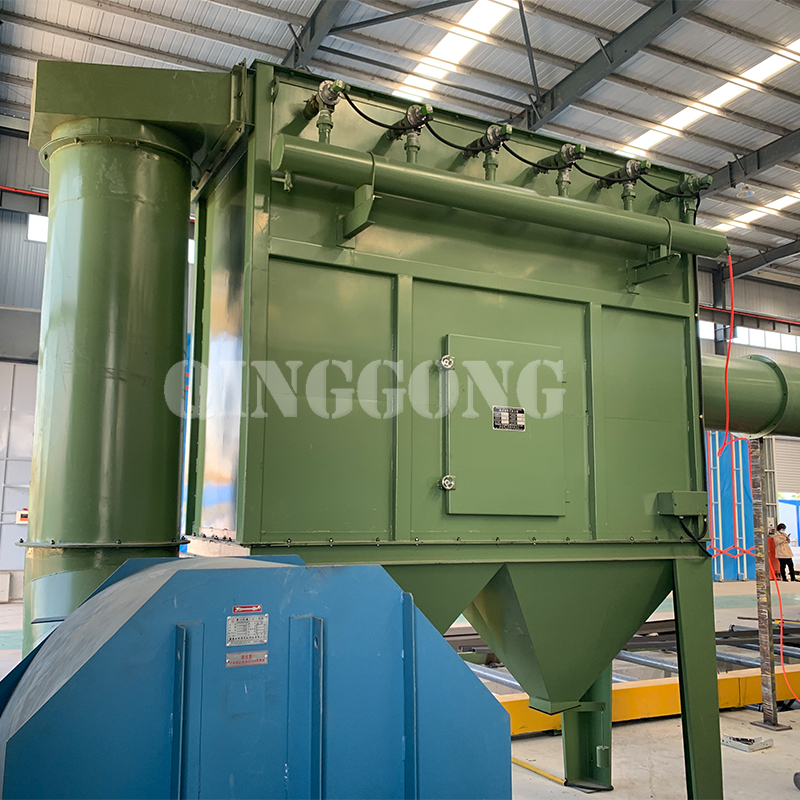working principle of dust collector