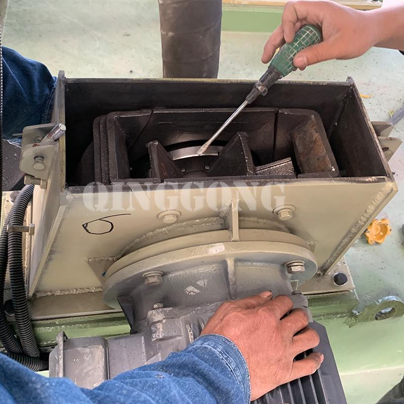 maintenance of shot blasting equipment