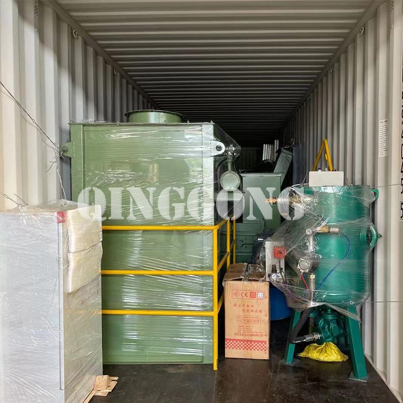 Sandblasting room delivery to Australia 4.jpg